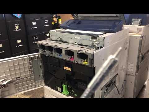 Xerox C60/70 or 550/560/570 Toner Dispenser Removal