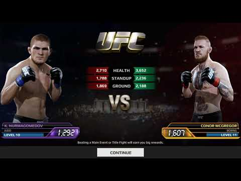 EA Sports UFC | Khabib Nurmagomedov Vs Conor McGregor | Android Gameplay