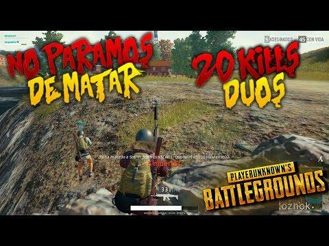 ¡NO PARAMOS DE MATAR! 20 KILLS DUO + VICTORIA| PLAYERUNKNOWN'S BATTLEGROUNDS ESPAÑOL