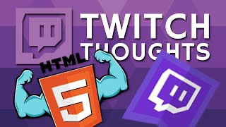 hTML5 Inbound & Twitch RPG - Twitch Thoughts
