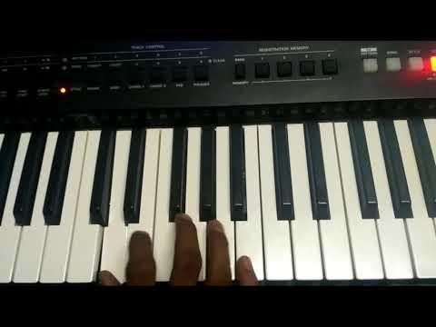 Nandriyal thuthi paadu keyboard lead notes easy | ATTUR MARTIN