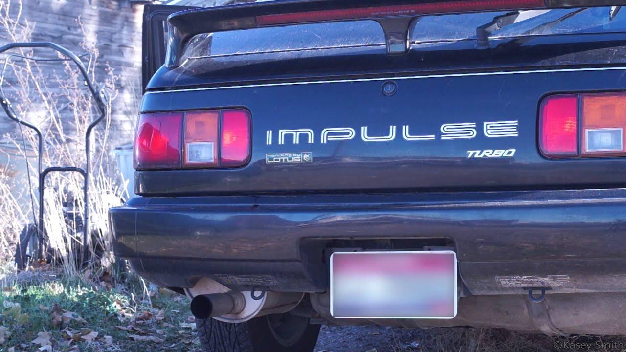 Isuzu Impulse Turbo ExhaustRevs  YouTube