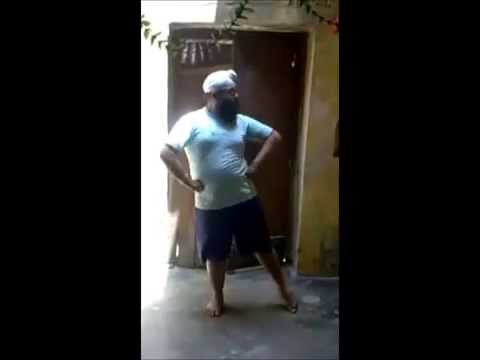 Sardar ji dance Awesome Performance  Rajshthani Folk song  , Must Watch