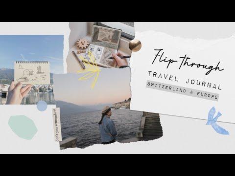 Flip Through | Travel Journal : Switzerland & Europe