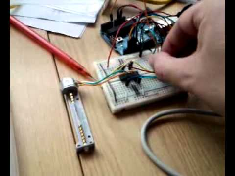 motor schematic arduino with floppy stepper    motor    youtube  arduino with floppy stepper    motor    youtube