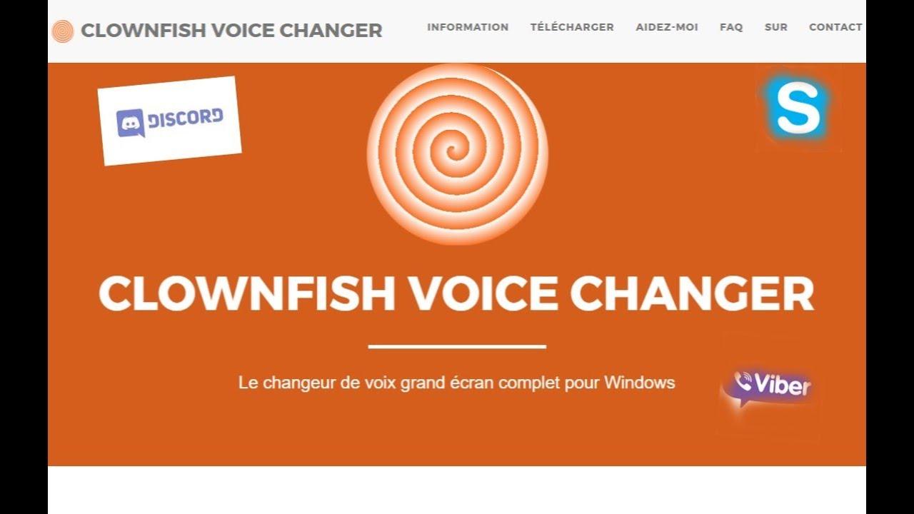 Clownfish Voice Changer | Le Modificateur de Voix