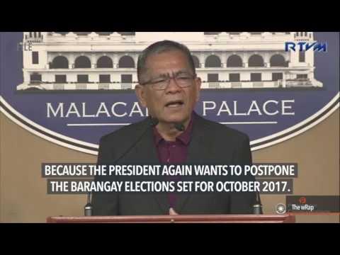 Alvarez confident the Houses can pass bill to postpone barangay polls