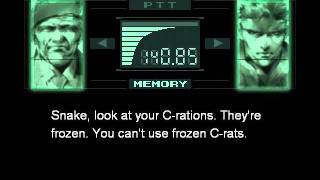 Metal Gear Solid Integral - Frozen Rations
