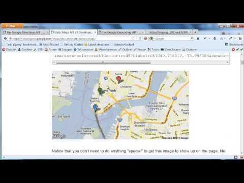 XSLT And Google Geocoding And Static Maps APIs