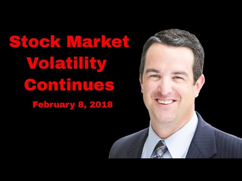 Stock Market Volatility Continues