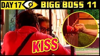 Vikas Gupta KISS Shilpa Shinde | Bigg Boss 11 Day 17 – Episode 17 | 18th October 2017 Episode Update