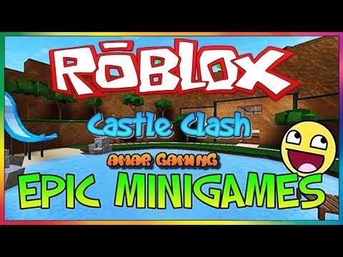 Roblox Epic Minigames : Castle Clash