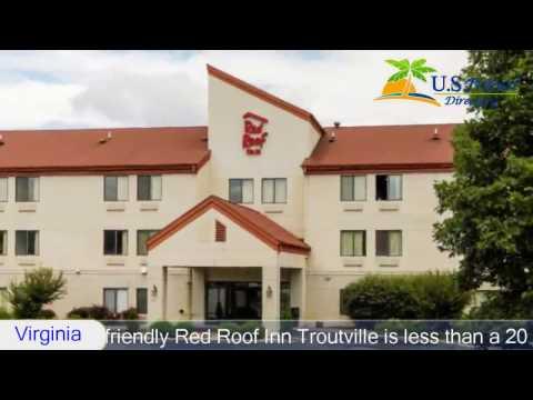 Red Roof Inn Roanoke - Troutville - Troutville Hotels, Virginia