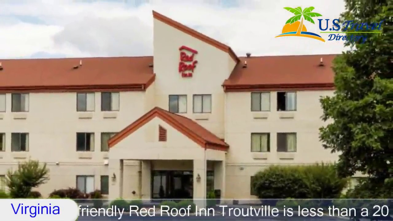 Perfect Red Roof Inn Roanoke   Troutville   Troutville Hotels, Virginia