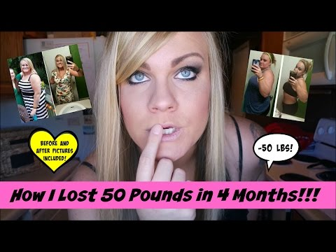 How I Lost 50 Pounds in 4 Months (How I Did It + Before & After Pictures!)