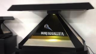 Burj khalifa Hologram