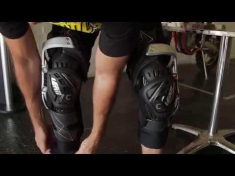 Leatt C-Frame Knee Braces Fitment Video