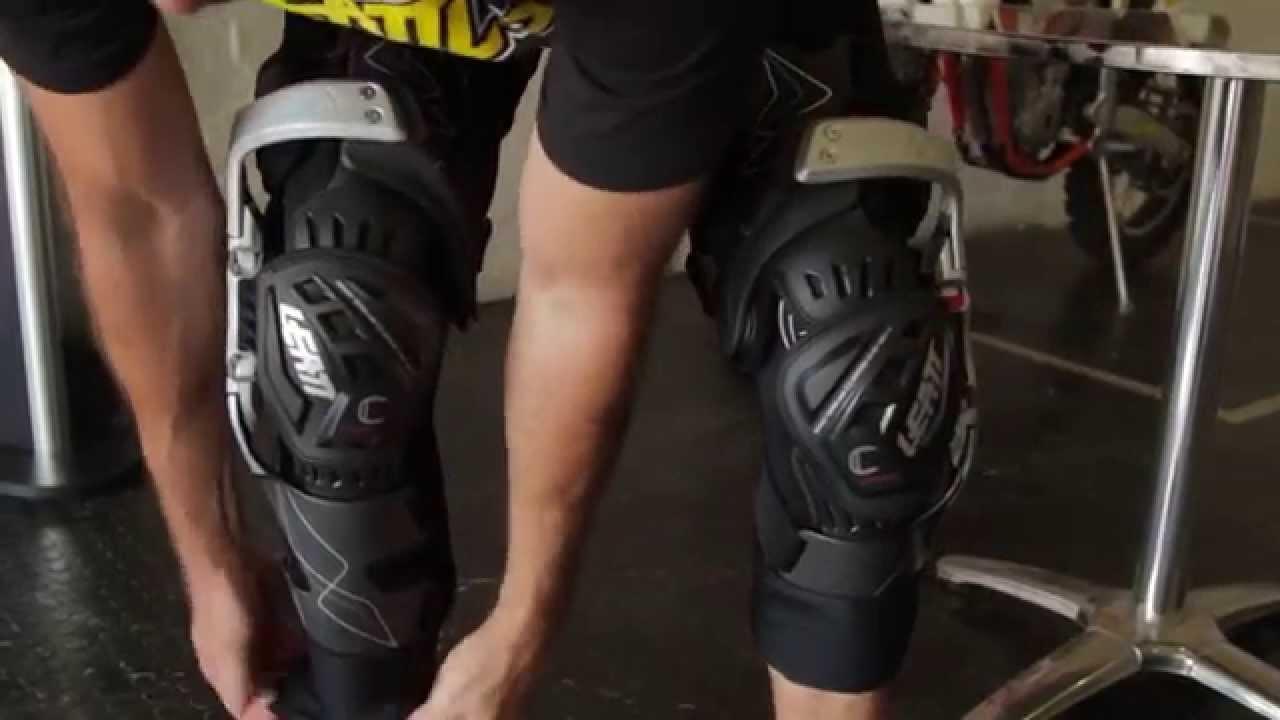 Mx Knee Braces >> Leatt C-Frame Knee Braces Fitment Video - YouTube