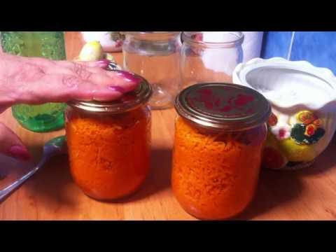 Как сохранить морковь на зиму в банке