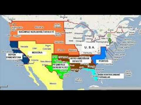 new usa map YouTube