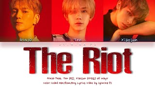 GiNJO -   39 The Riot  Feat  Ten  Xiaojun of WayV   39  s  Color Coded Eng      Resimi