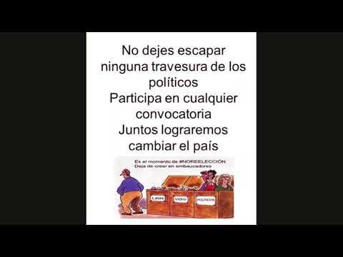 Participa en la campaña #NoAlareleccion