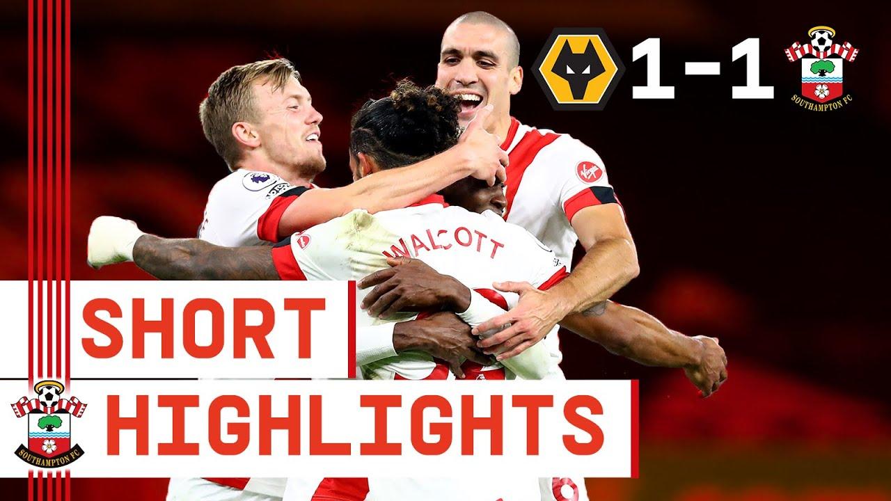 90-SECOND HIGHLIGHTS: Wolverhampton Wanderers 1-1 Southampton | Premier League