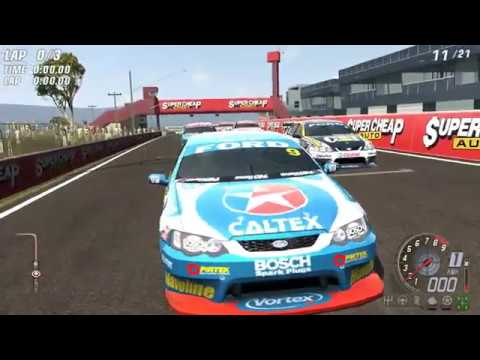 V8 Supercars 3 - Ford Falcon BA SBR w/ Russell Ingall at Mount Panorama, Bathurst