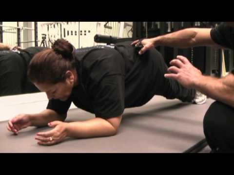 Janet Ginnings Training with Tee Tarjan at MighteeFit Health Studios