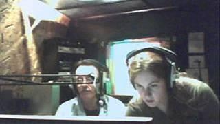 Gabriela Alexander Reading Poetry with Patrick Lyons on  Radio Peckham 2009