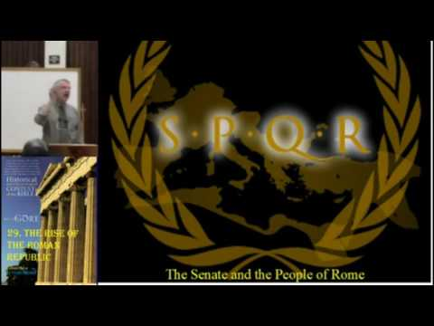 The Rise of the Roman Republic - Republican Form of Government - God, Government and Authority