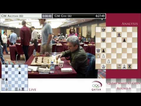 Rd 8 - Chess tournament Final round - Qatar Master Open 2014 3/3