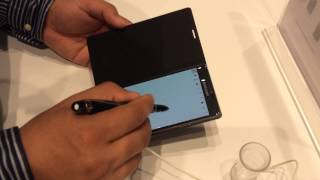 Hands on video of new 'Samsung Galaxy Note 4' (IFA2014 Berlin)