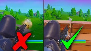 *NEW* How To Shoot Enemies WITHOUT Peaking! - Fortnite Battle Royale