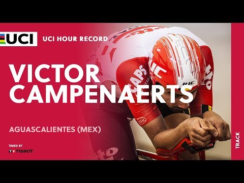 Victor Campenaerts, UCI Hour Record timed by Tissot – Aguascalientes (MEX)