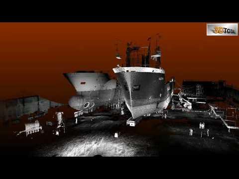 3D Total - Ship repair survey
