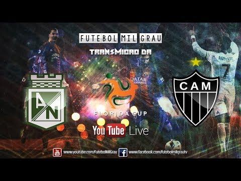 Atlético Nacional-COL 2 x 0 Atlético-MG - Jogo Completo HD - Flórida Cup 2018