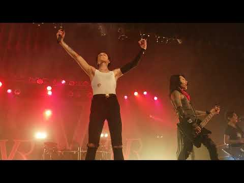 Black Veil Brides Fallen Angels & In The End (closeout) live at Sokol