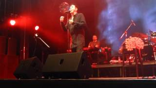 Marc Almond  - These Darker Times (Soft Cell song) 9.10.2015 live @Yotaspace in Moscow