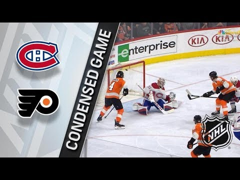 Montreal Canadiens vs Philadelphia Flyers – Feb. 20, 2018 | Game Highlights | NHL 2017/18. Обзор