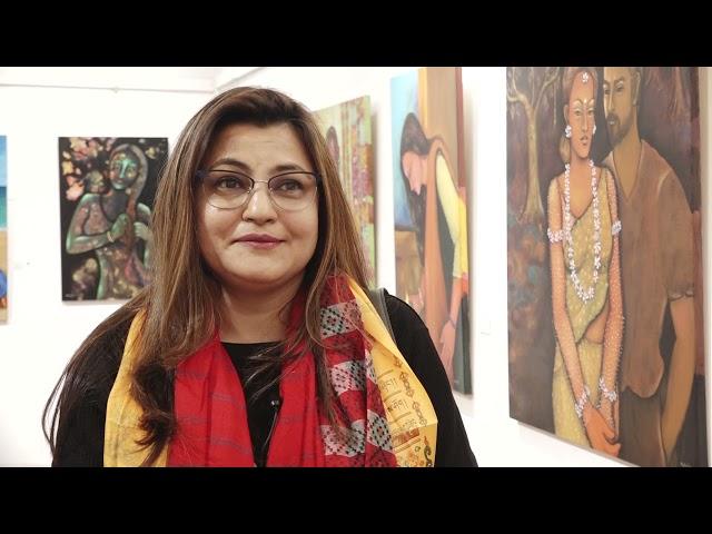 नेपाल कला परिषदमा चित्रकला प्रदर्शनी #ournewscrew #Nepal_Art_Council