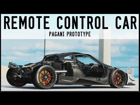 Remote Control Car - Pagani Prototype - Forza Horizon 3 (Dev Mods)