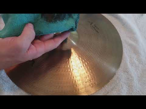 How to clean your cymbals part 2