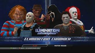 Jason Voorhees vs Michael Myers vs Freddy Krueger vs Ghostface vs Chucky vs Penny-wise  WWE 2K15
