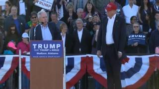 FULL: Jeff Sessions Endorses Donald Trump At Alabama Rally! Free HD Video