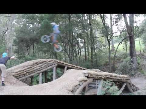 stealth-fighter:-riding-in-the-backyard,-tasmania-www.stealthelectricbikes.com