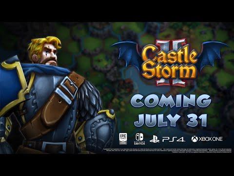 CastleStorm II - Release Date Trailer - Coming July 31!