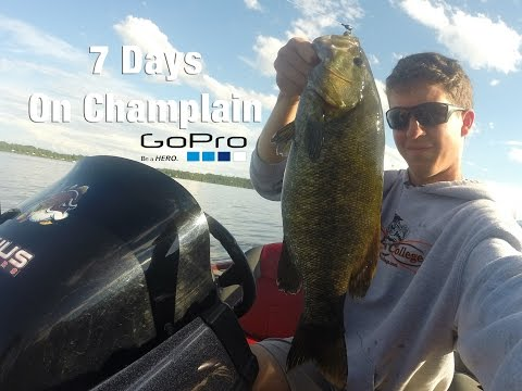 Lake Champlain August 2015 BFL Practice (7 Days)