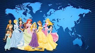 The Nationalities of Disney Princesses. Do you know it ? Where Disney Princesses from ?