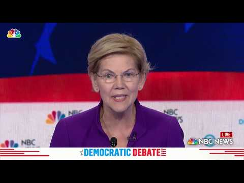 Democratic Debate: See Sen. Elizabeth Warren's Opening Answer | NBC New York